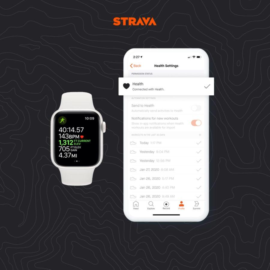 Aplikacja Strava i Apple Watch