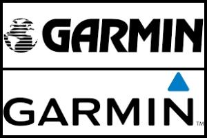Logo firmy Garmin kiedyś i dziś